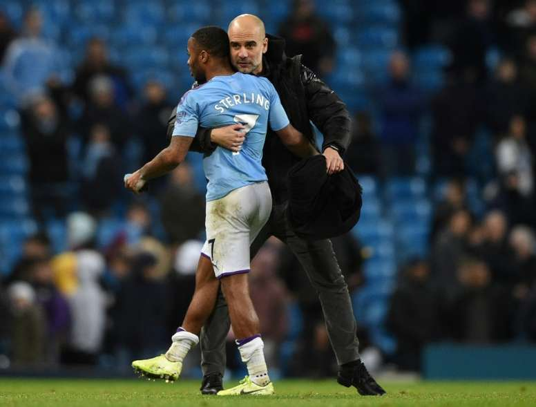 Zidane admires Sterling but won't discuss potential move. AFP