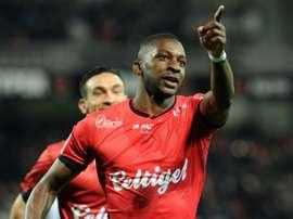Senegal international midfielder, Younousse Sankhare. AFP