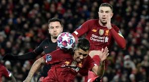 Professor Tim Spector says Liverpool v Atletico should have been behind closed doors. AFP