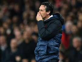 Everton a rejeté l'arrivée d'Emery. AFP