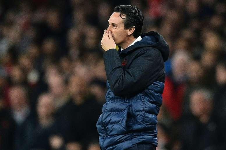 Emery podría llegar al Benfica. AFP