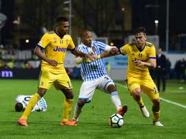 SPOAL held out for a point to inject some life into the Serie A title race once again. AFP