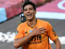 Jiménez scored again for Wolves. AFP