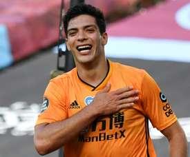 Wolves want 100 million euros for Jiménez. AFP