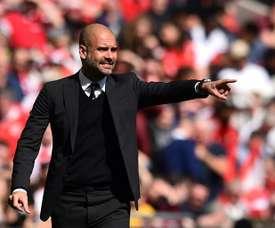 Guardiola quiere pescar en el Tottenham. AFP