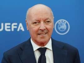 L'Italien sera le nouveau directeur sportif du club. Twitter/Inter
