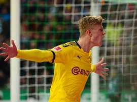 Haaland netted once again for Dortmund this Saturday. AFP