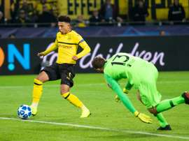 Jadon Sancho had had playing opportunities at Borussia Dortmund. AFP