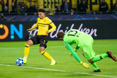 Jadon Sancho had had playing opportunities at Borussia Dortmund. AFP