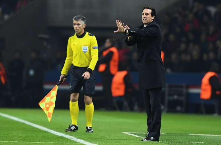 Paris Saint-Germain head coach Unai Emery is under pressure as the team falters in Ligue 1