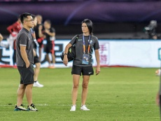 'First woman physio' breaks down barriers in China football. AFP