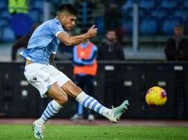 Le formazioni ufficiali di Lazio-Atalanta. AFP
