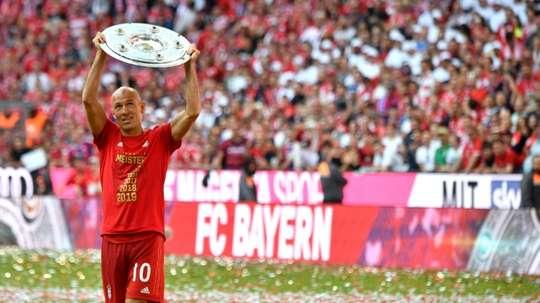 Il miglior allenatore secondo Robben. AFP