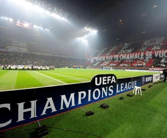 Atalanta want to play their Champions League home games at the San Siro. AFP