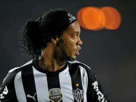 Ronaldinho lui avait offert ses crampons. AFP