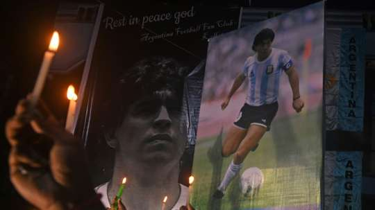 Fans have paid homage to the legend. AFP