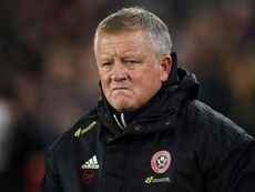 Chris Wilder will respect any player who does not feel comfortable playing. AFP