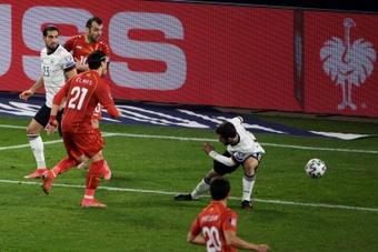 Le modeste golden boy du football macédonien. AFP