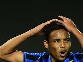 Atalanta striker Muriel out of hospital after head injury at home. AFP