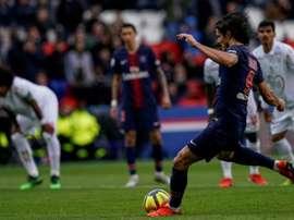 Les compos probables du match de Ligue 1 entre l'OGC Nice et le PSG. AFP