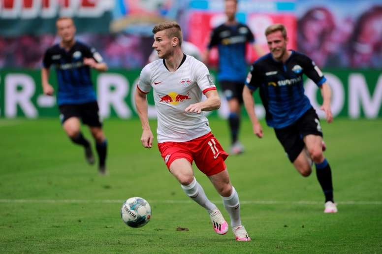Leipzig pour cold water on Werner Chelsea talk. AFP