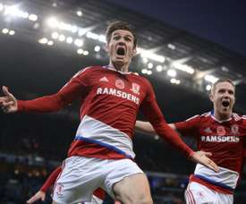 De Roon is expected to leave Teesside this summer following Boro's relegation. AFP