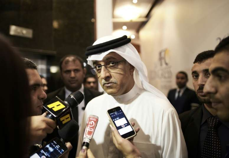 The Sheikh is standing for a fresh term as AFC chief. AFP