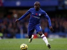Kante has filed a complaint against one of his former agents. AFP