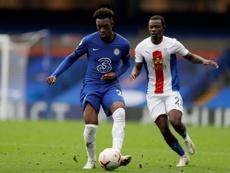 Hudson-Odoi could leave Chelsea. AFP