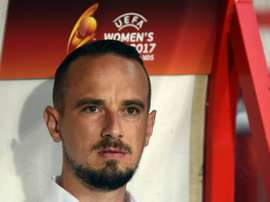Mark Sampson has been the subject of two FA investigations. AFP