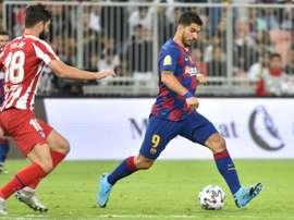Suarez potrebbe lasciare il Barcellona. AFP