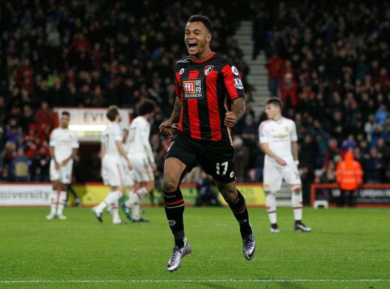 Joshua King faisait partie des options de Manchester United. AFP