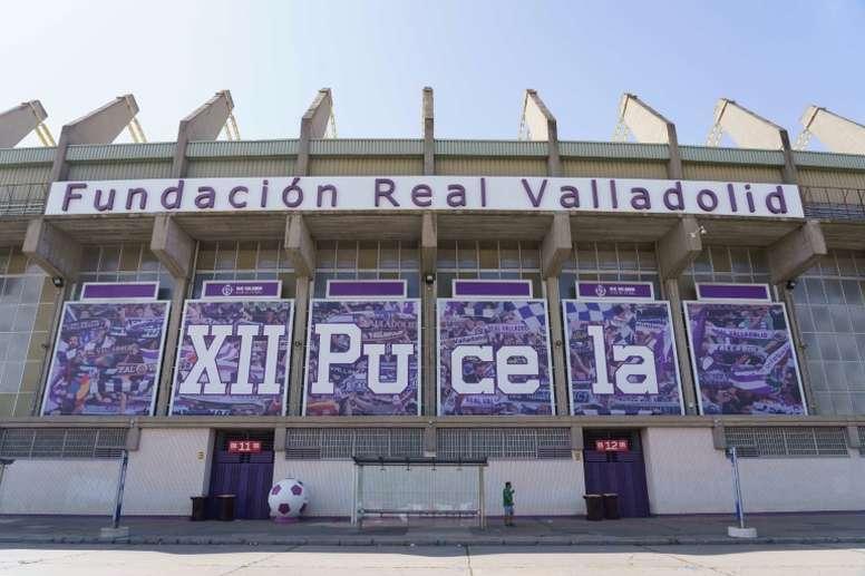 La RFEF ha abierto expediente al Valladolid por el partido ante el Valencia. AFP/Archivo