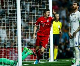 Real Madrid unsuccessfully tried to buy Lewandowski on three separate occasions. AFP