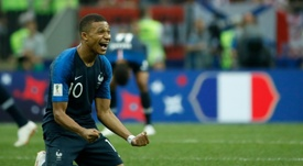 Mbappé sigue rompiendo récords. AFP