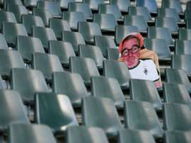 Monchengladbach fans can get a cardboard cut out of themselves for their seat. AFP