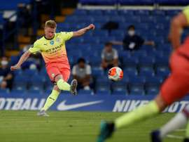 Martinez elogia De Bruyne. AFP