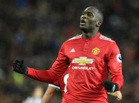 O Manchester United bateu o WBA por 1-2. AFP