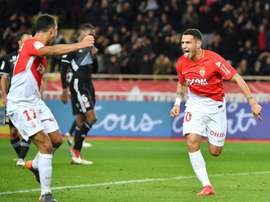 Lopes scored a dramatic late winner for Monaco. AFP