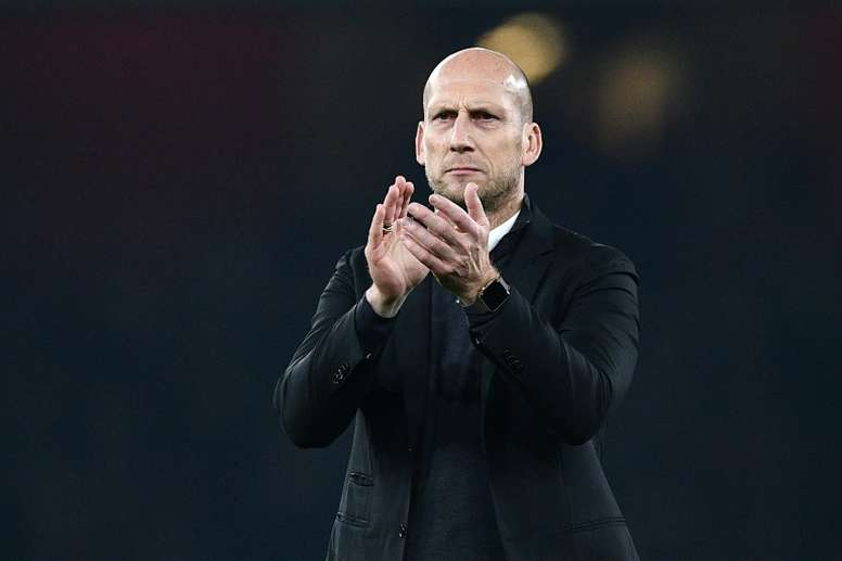 Jaap Stam took over at Championship side Reading in the summer. AFP