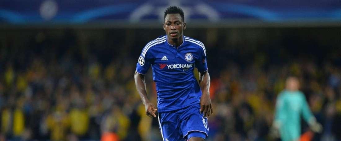 OFICIAL: Chelsea empresta Baba Rahman ao Mallorca. AFP