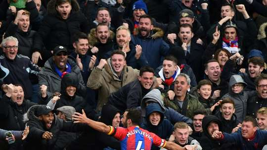 Crystal Palace host Tottenham Hotspur at Selhurst Park this weekend.  AFP