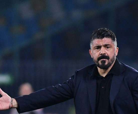 Gattuso is a fan of Puig. AFP