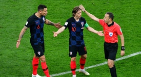 Lovren and Modric will both face charges over a false testimony. AFP