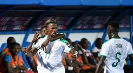 Le don de Keita Baldé au Sénégal dans la lutte contre le Covid-19. AFP