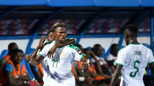 Keita Baldé testé positif à la Covid. AFP