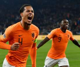 Van Dijk's life has changed significantly in the last 10 years. AFP