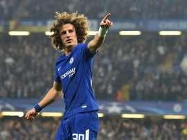 Chelsea David Luiz. AFP