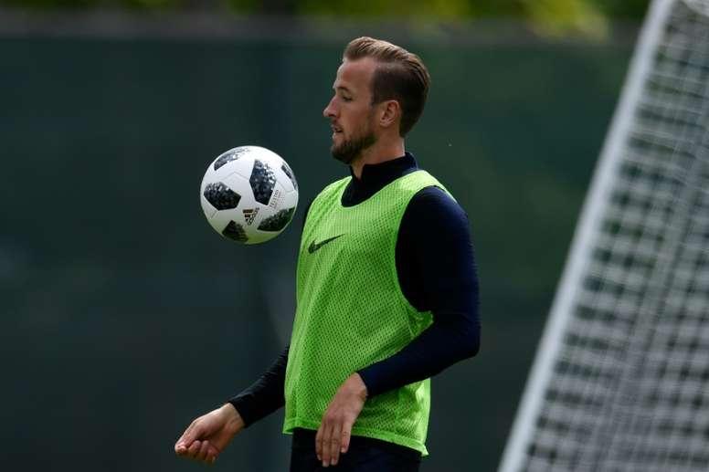 Kane espera voltar o mais rápido possível. AFP