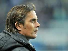 PSV Eindhoven coach Phillip Cocu. AFP